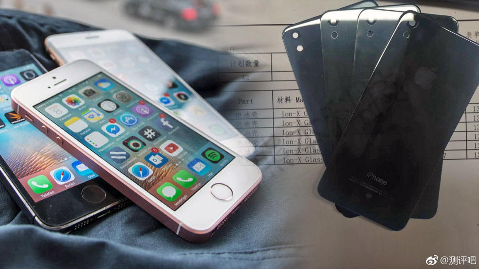 iPhone SE (2017) får glass på baksiden
