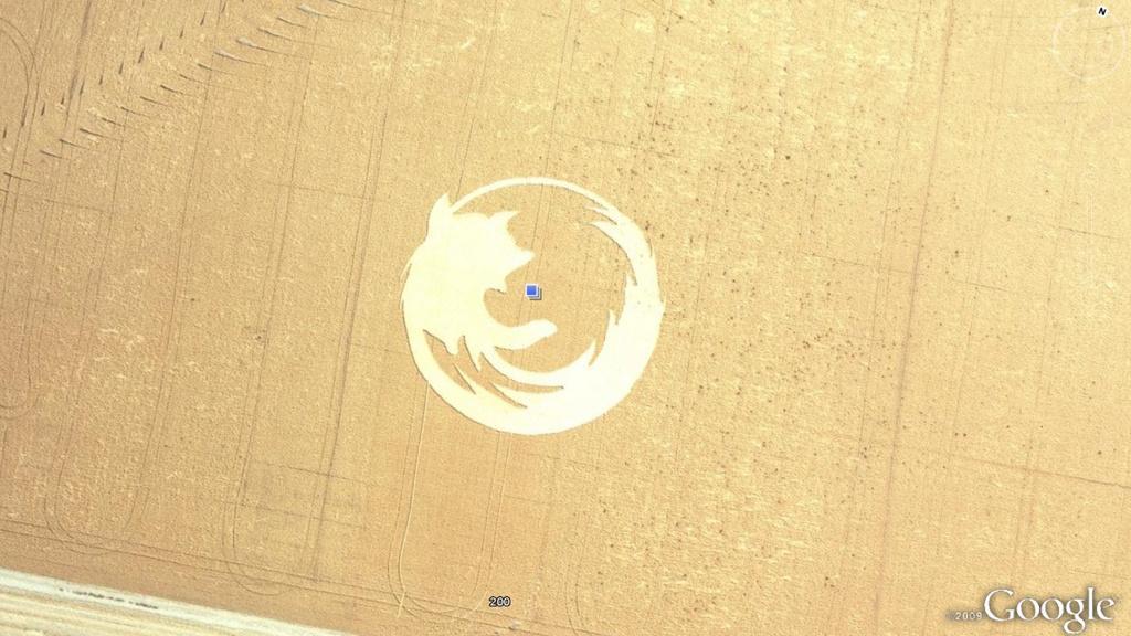 Sære funn i Google Earth