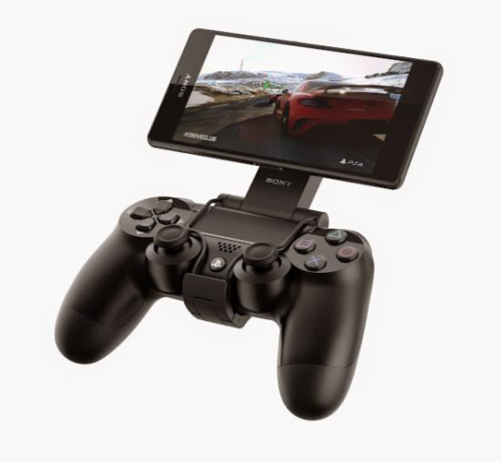 GCM10 lar deg enkelt koble sammen håndkontrollen og nettbrettet eller mobilen.Foto: Sony