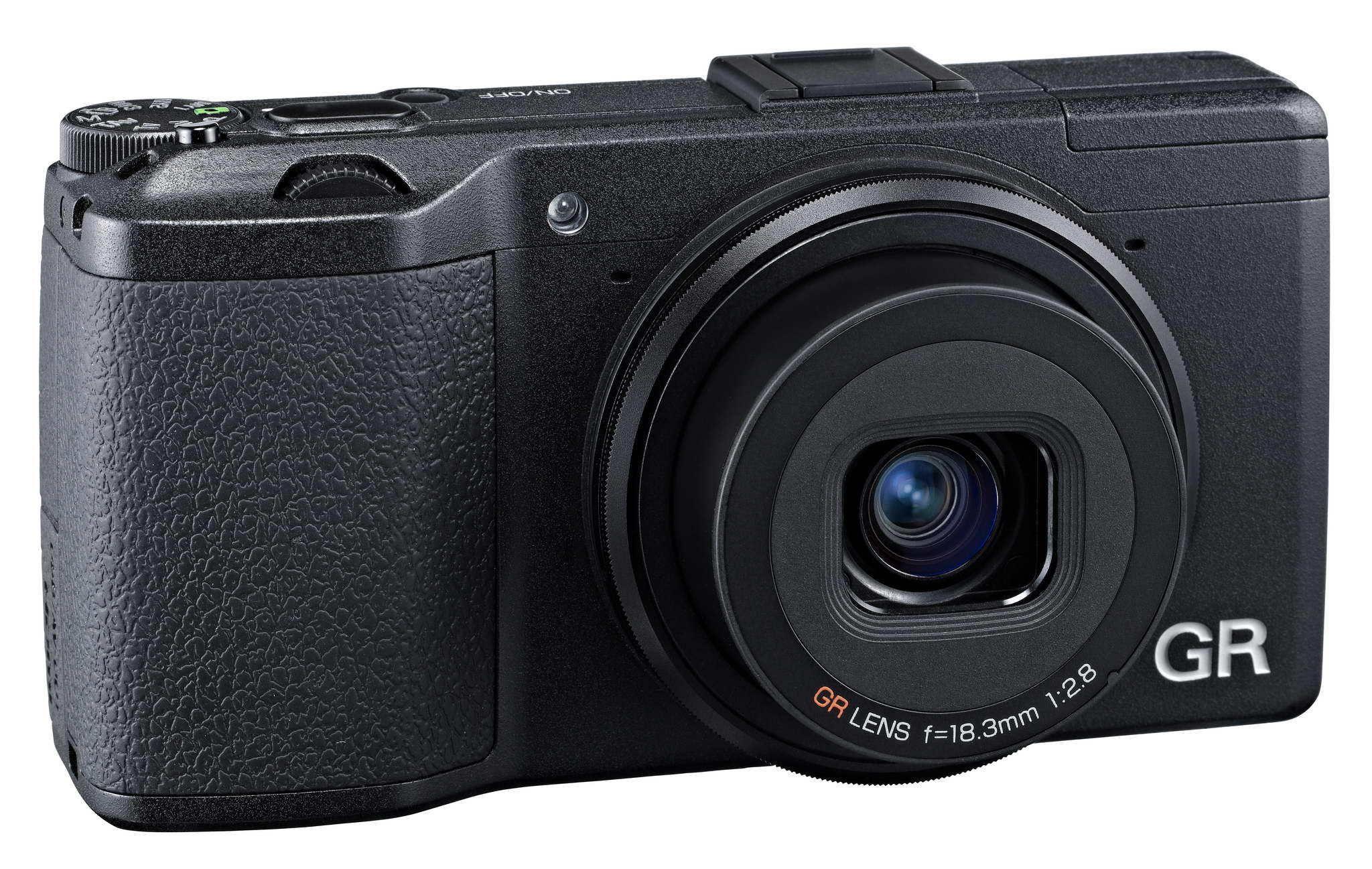 Ricohs nye kamera er lovende greier.Foto: Ricoh