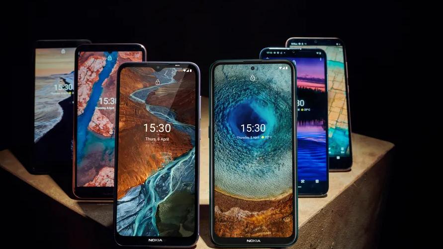 Seks nye Nokia-telefoner lansert
