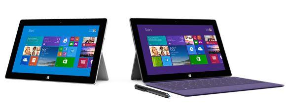 Nye Surface 2 og Surface Pro 2 er lansert fra Microsoft.Foto: Microsoft