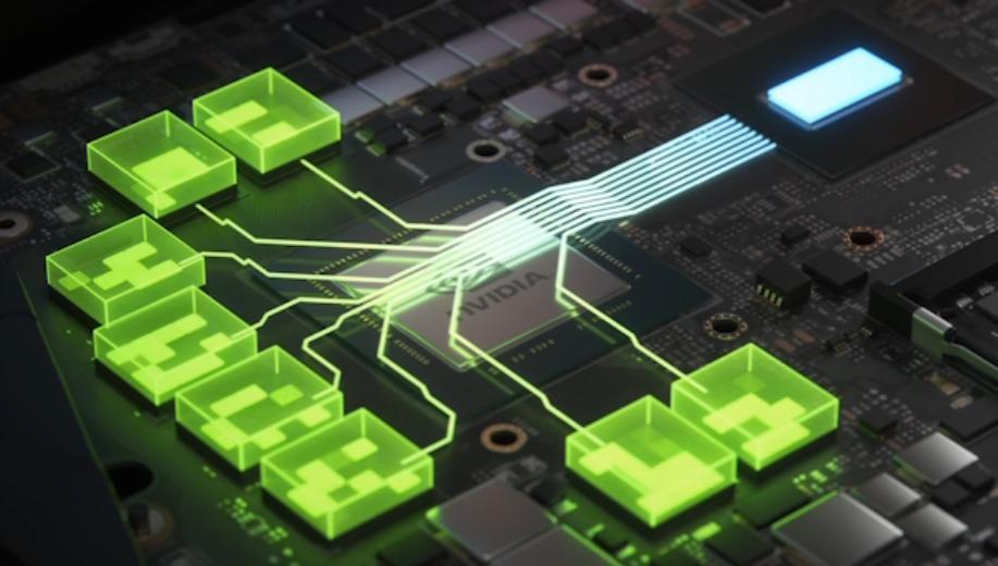 Slik illustrerer Nvidia hvordan Resizable BAR gir bedre utnyttelse av videominnet til grafikkbrikken.