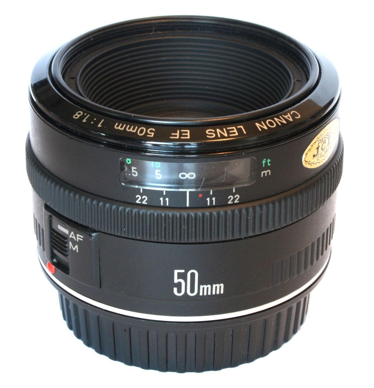 Grandad: Canon EF 50mm f/1.8. Foto: JTPickering