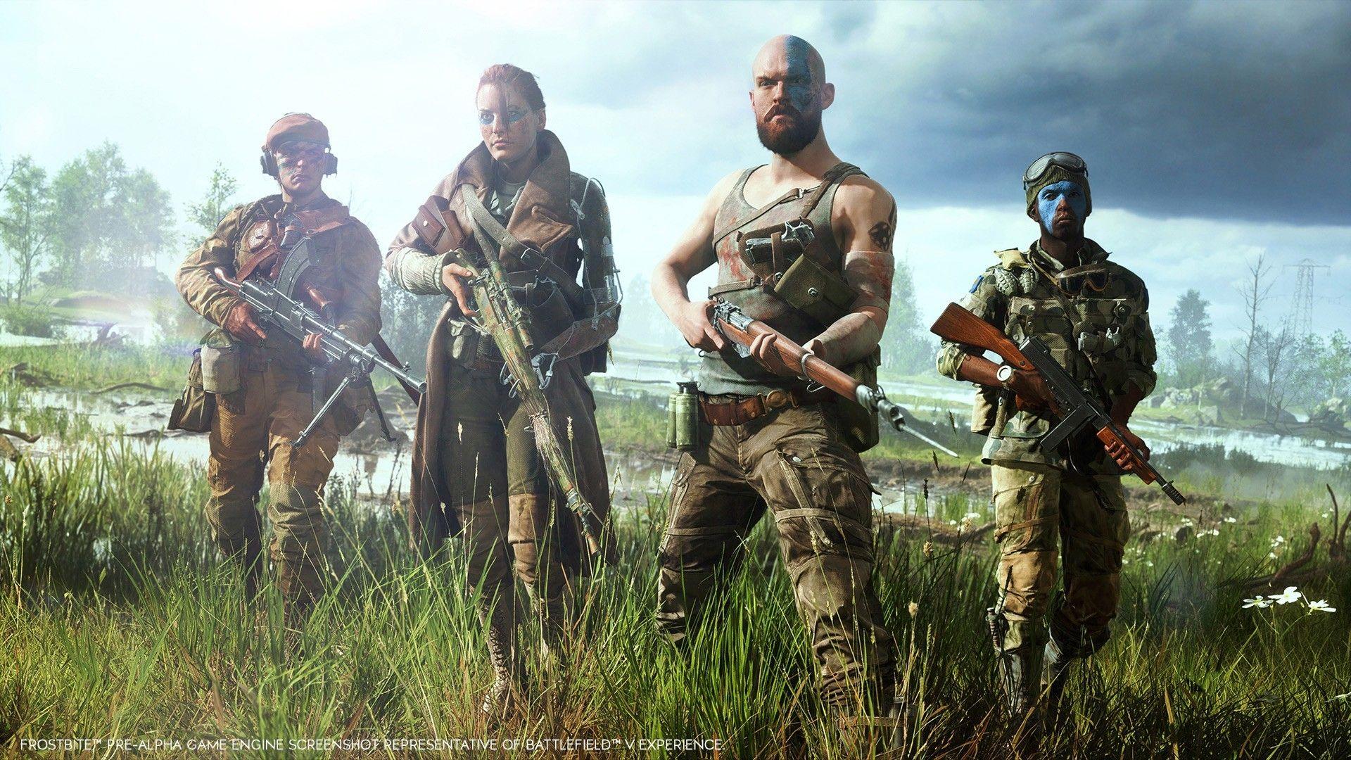 De nye Battlefield V-kravene er spinnville