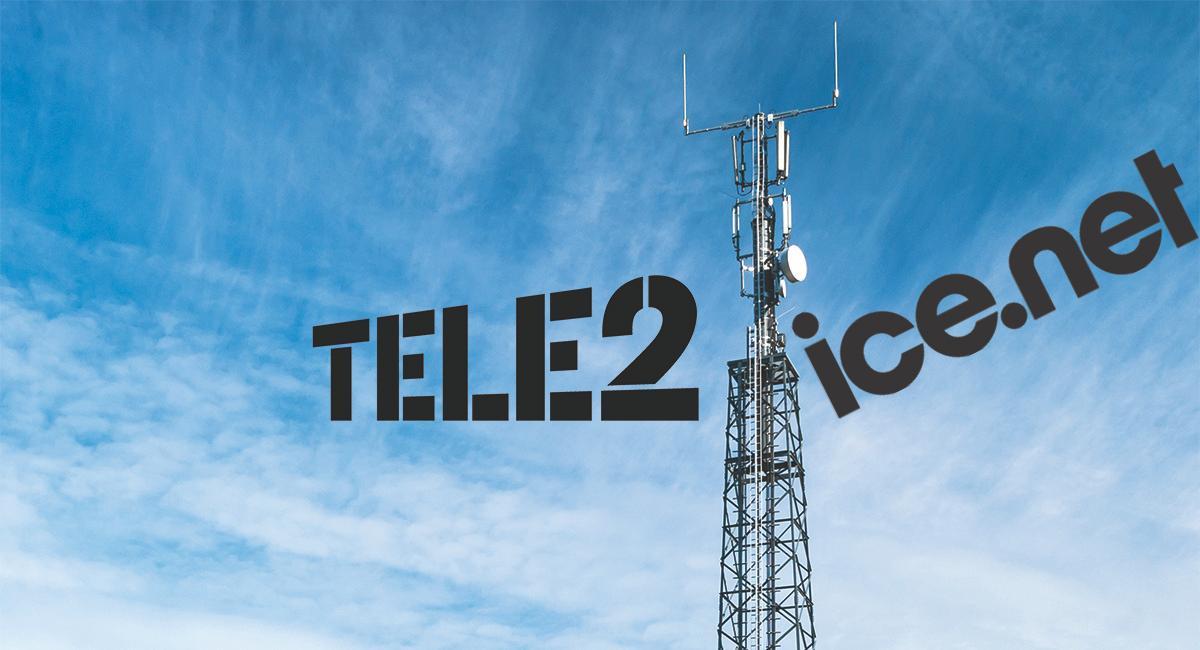 Tele2 låner frekvenser av Ice