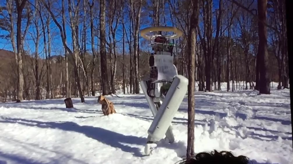 Dette er «Schaft», Googles nye tobeinte robot
