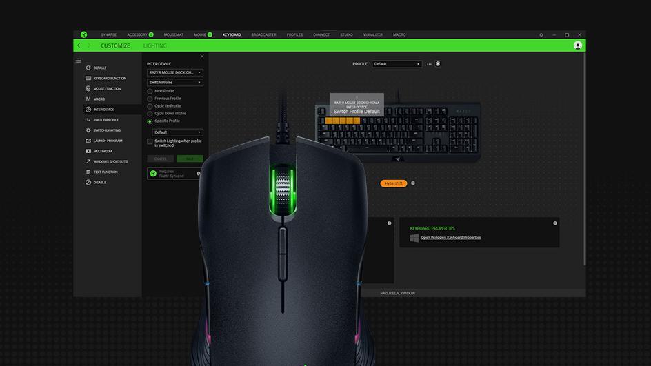 Razers Synapse-programvare installeres automatisk av Windows når du kobler til en mus eller tastatur, og utgjør nå en sikkerhetsrisiko.