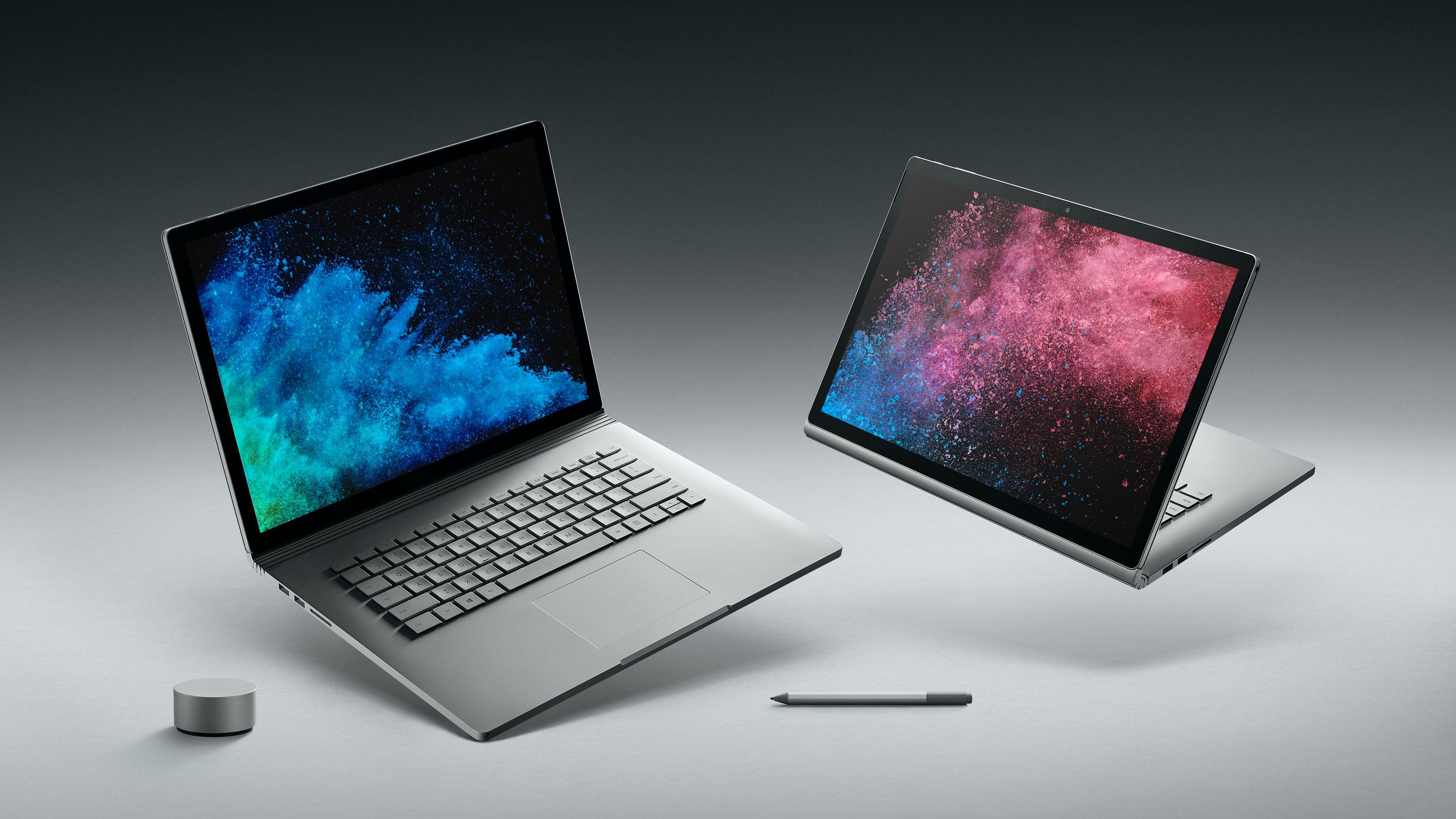 Her er Surface Book 2 - nå også i 15-tommer