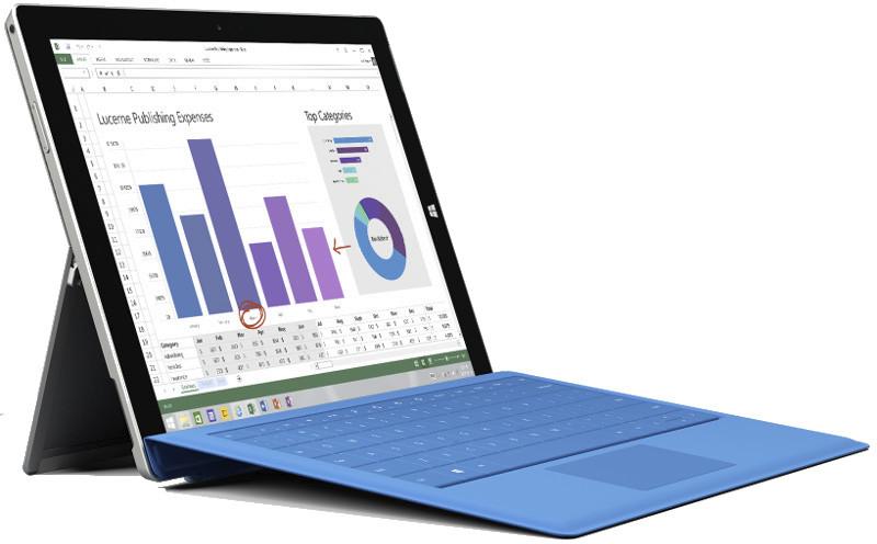 Microsoft Surface 3. Foto: Microsoft