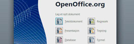 NRK velger Openoffice.org