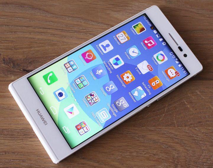 Huawei Ascend P7 har den foreløpig siste generasjonen systembrikke fra selskapet. Her har de også gått over til å bruke grafikkariktekturen Mali fra ARM.Foto: Espen Irwing Swang, Tek.no