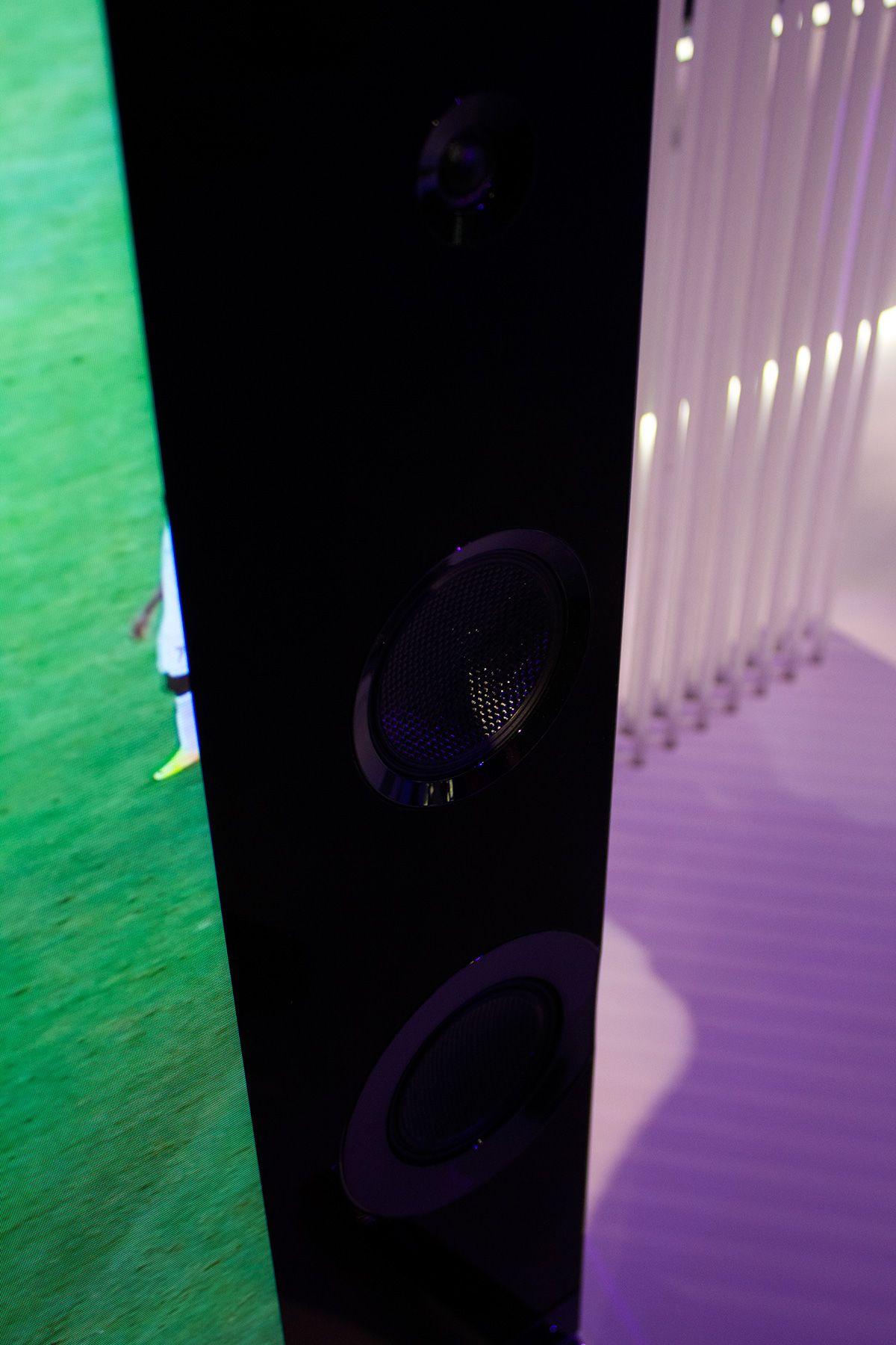 Flere høyttalere og kraftigere elementer er blant nyhetene fra Sony i år.Foto: Varg Aamo, Hardware.no