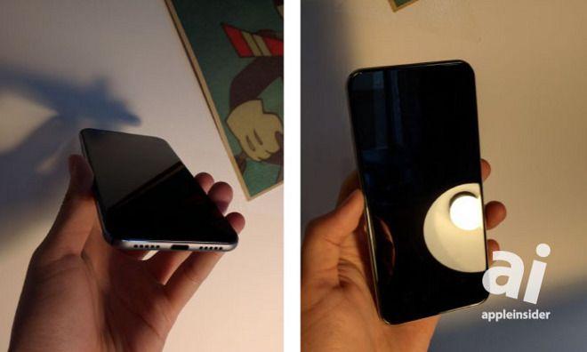 iPhone Pro sett forfra og nedenfra.