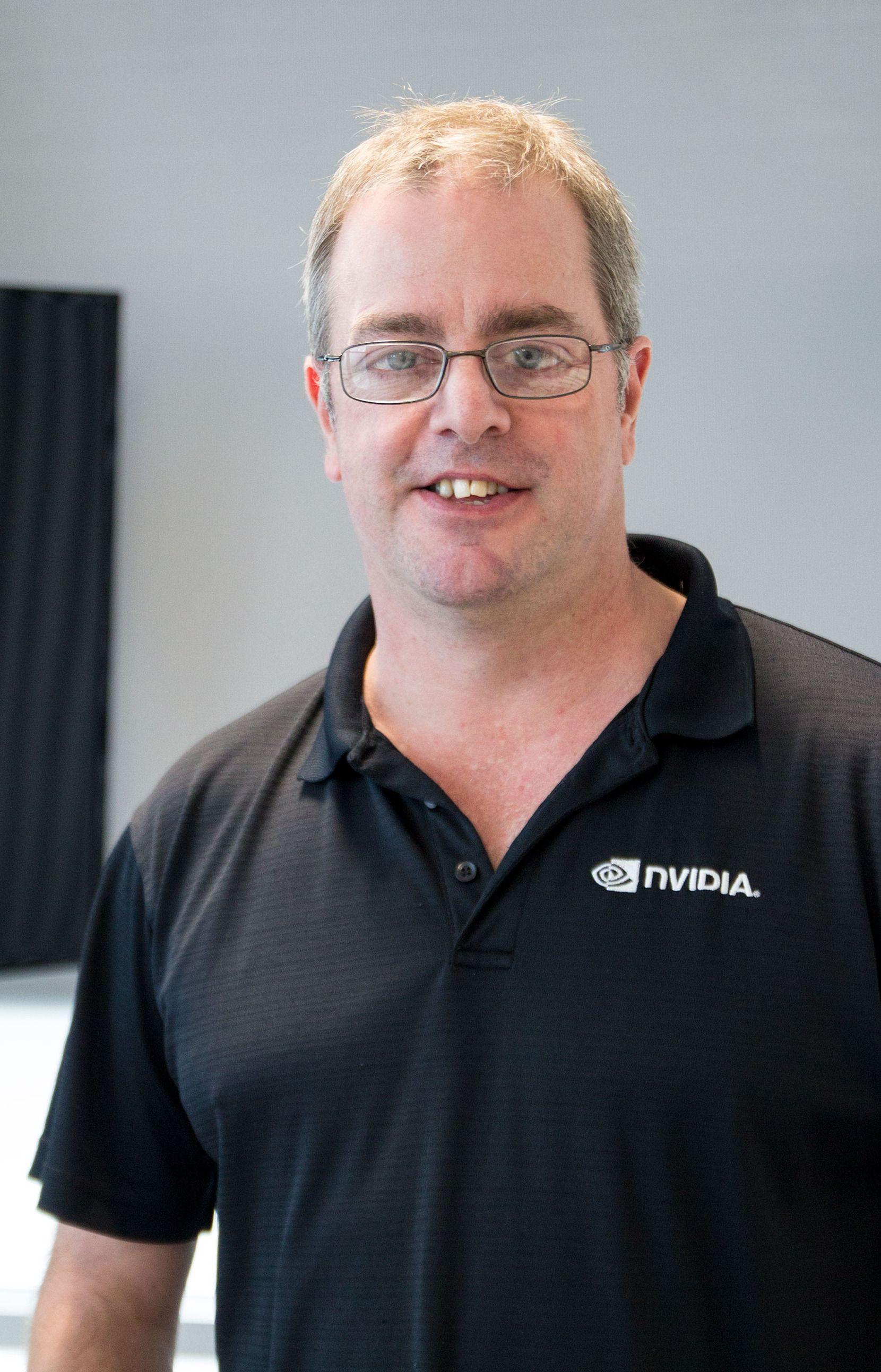 Tom Petersen, teknisk markedsføringssjef hos Nvidia, er mannen som fant opp G-Sync.