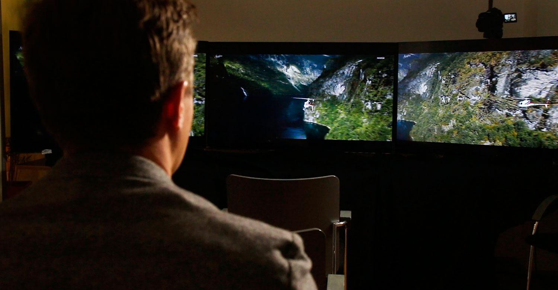 Hvis du er ute etter en TV på «bare» 55 tommer, kan du like gjerne velge Full HD.