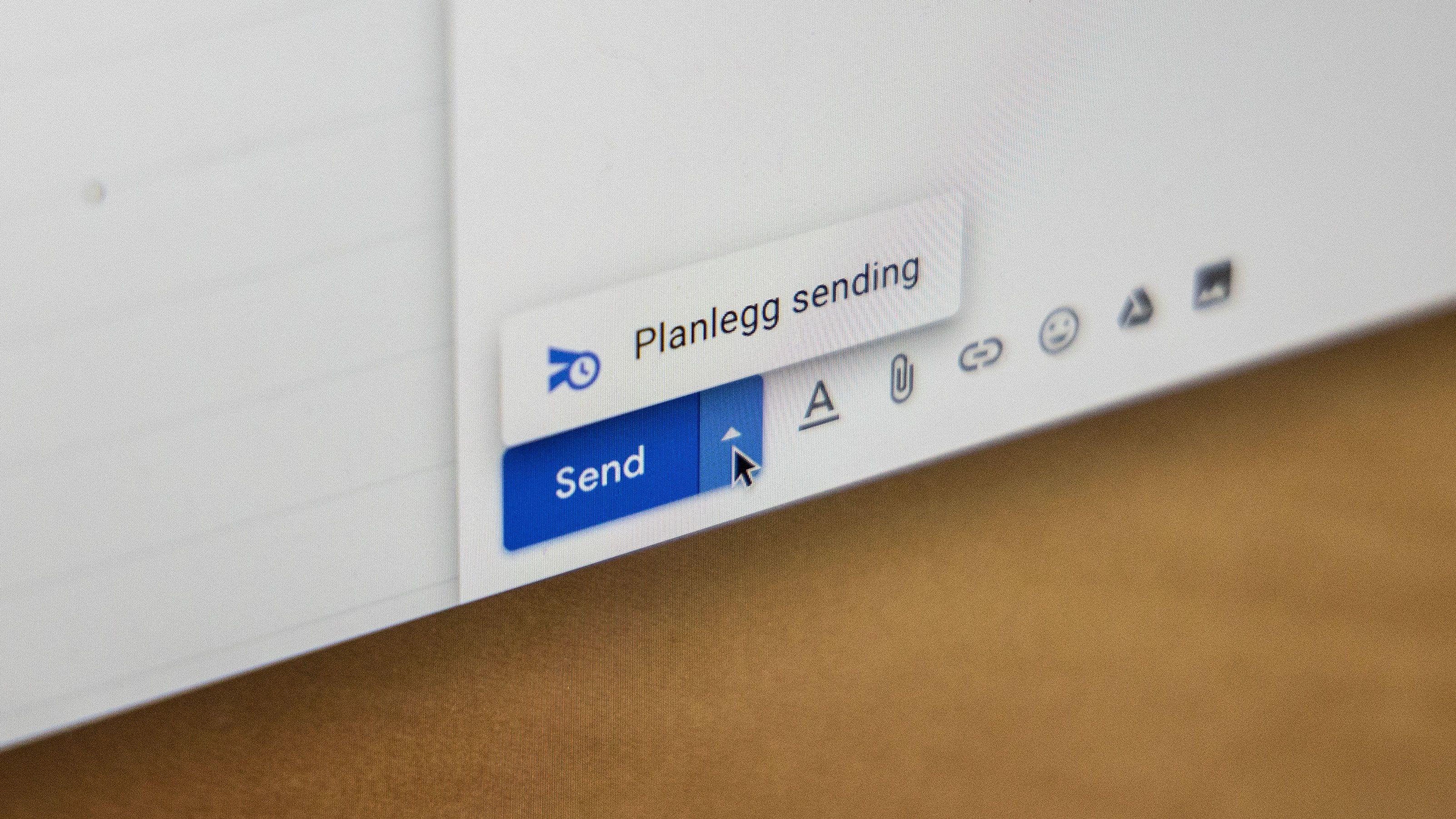 Nå kan du endelig planlegge eposter i Gmail