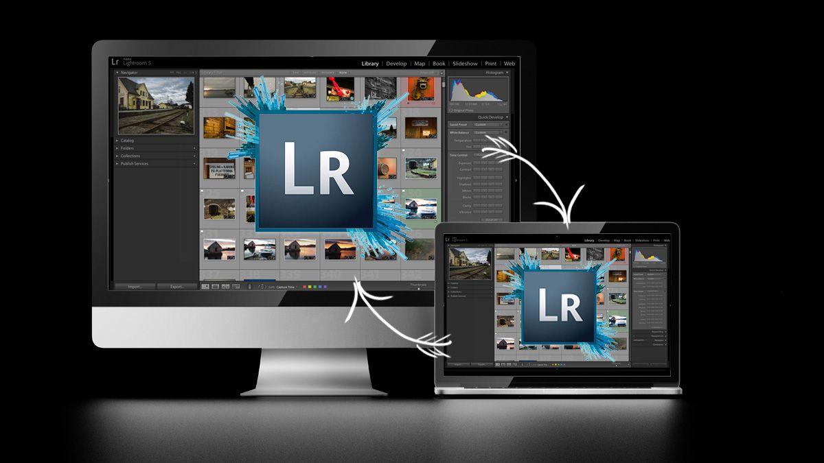 Slik synkroniserer du Lightroom mellom flere datamaskiner