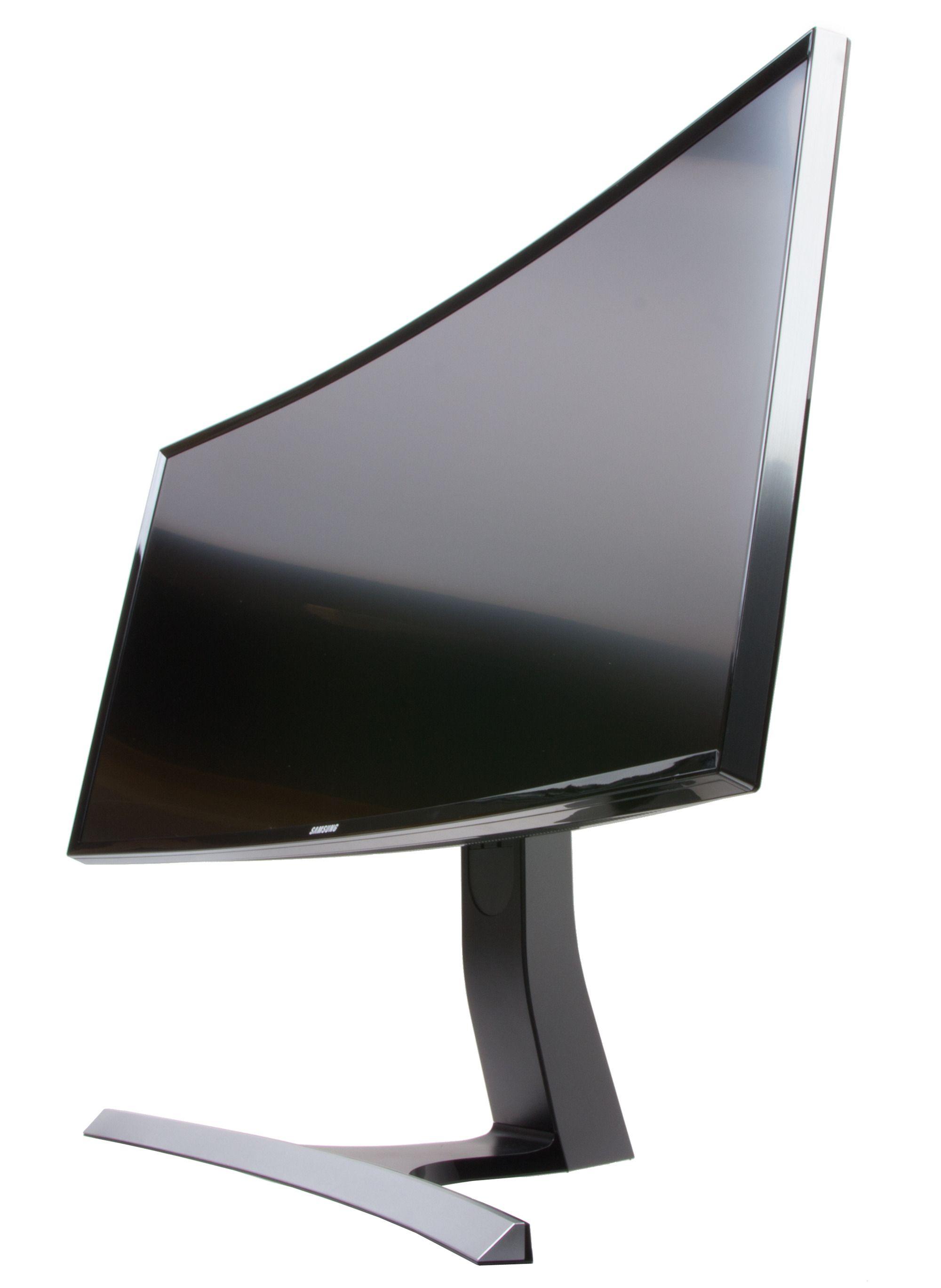 Det er ingen tilfeldighet at mange ultrabrede skjermer er buede.
