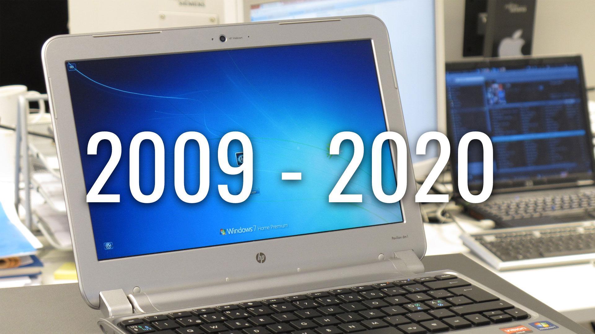 Nå er det slutt for Windows 7