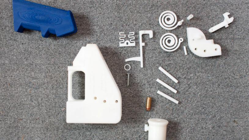 Verdens første 3D-skrevne våpen, Liberator. Bilde: Defcad