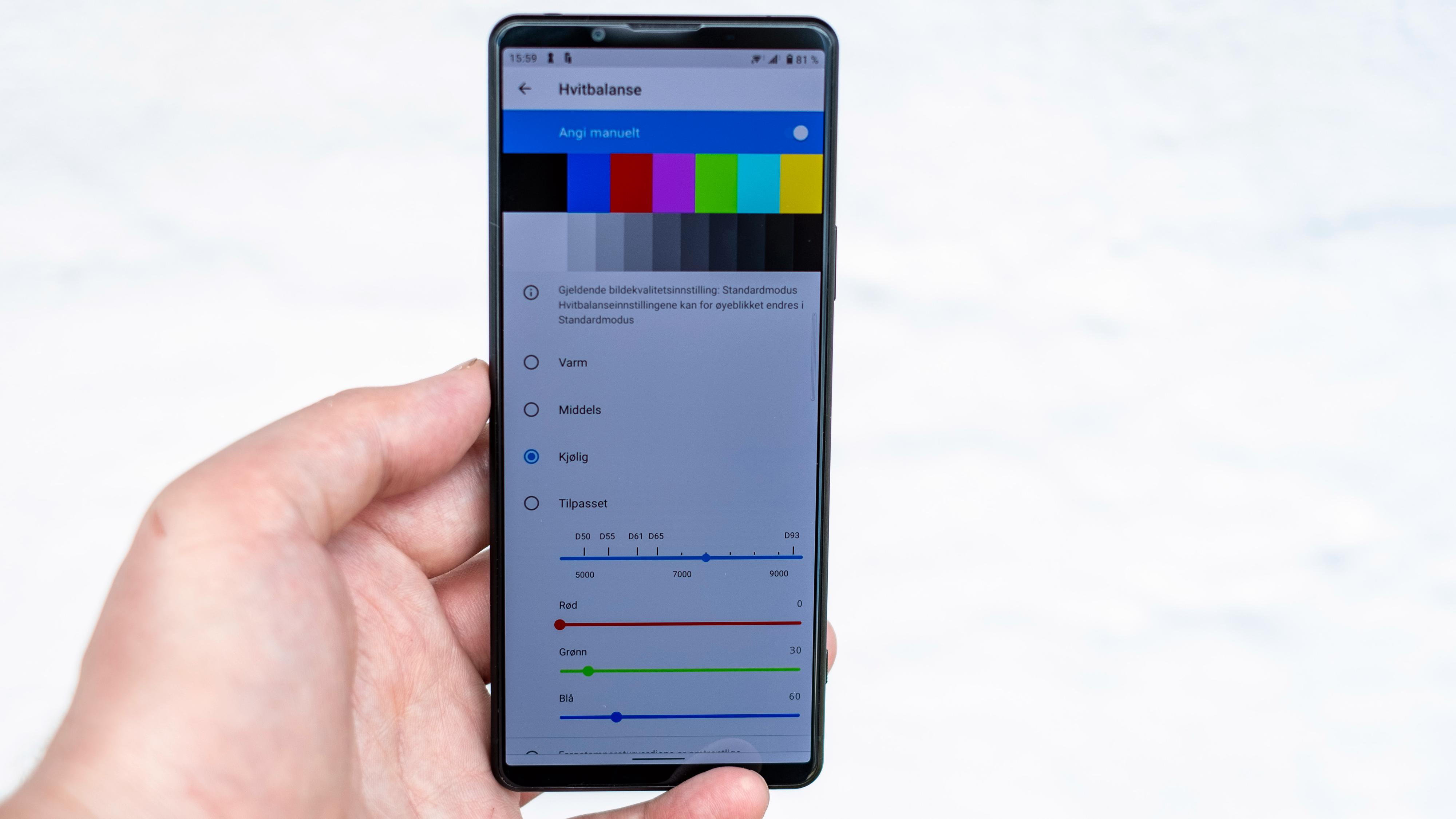 Hvorfor må det være så komplisert? Ett mulig svar er at telefonen skal kunne brukes som søker for Sonys systemkamera. Men som vanlig bruker inne i disse menyene er det lett å få pustebesvær.
