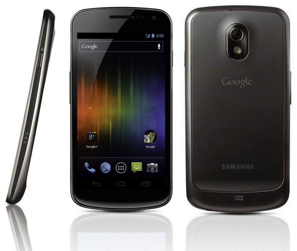 Slik ser dagens Nexus-modell ut. Galaxy Nexus er produsert av Samsung.