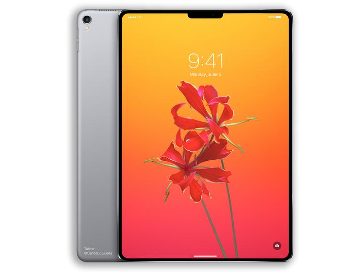 Blir de nye iPad-modellene lik denne dataskapte skissen?