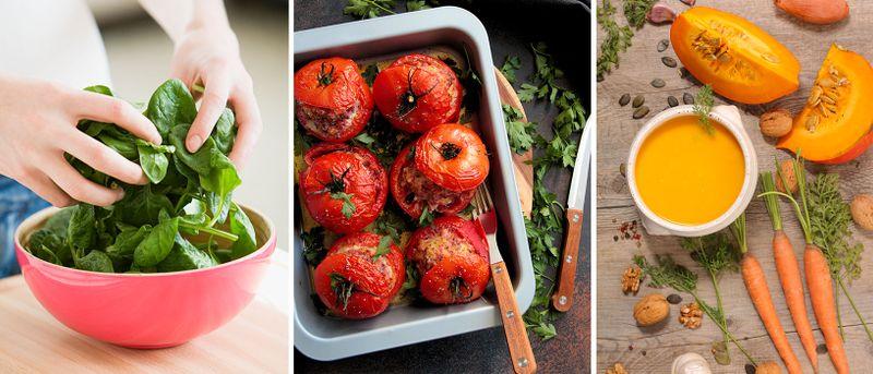 Här är grönsakerna som är nyttigare varma