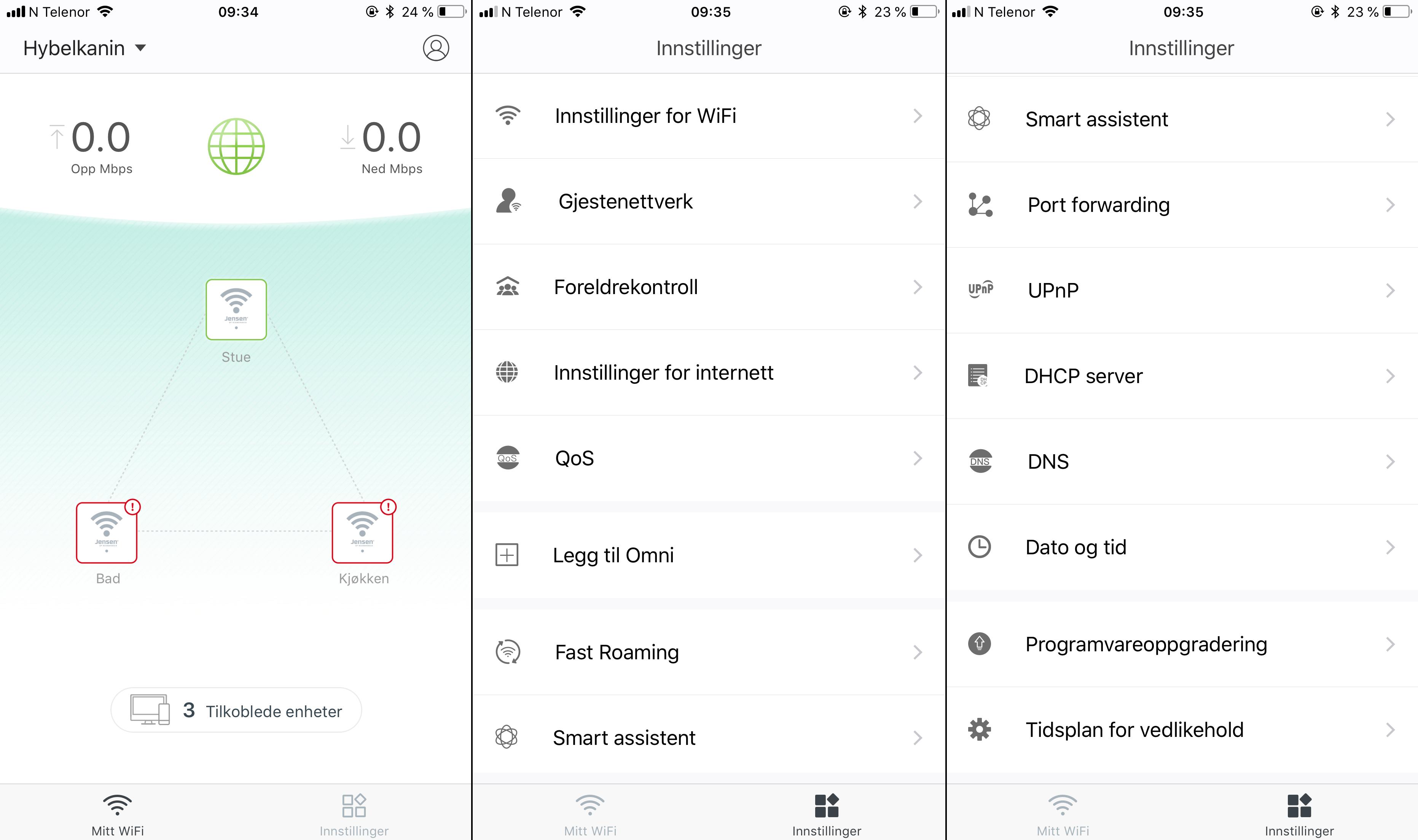 Omni-appen er rimelig enkel og brukervennlig, men har fortsatt tilgang til en del mer eller mindre avanserte funksjoner.
