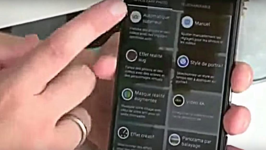Et annet skjermbilde fra den franske Z5-videoen.
