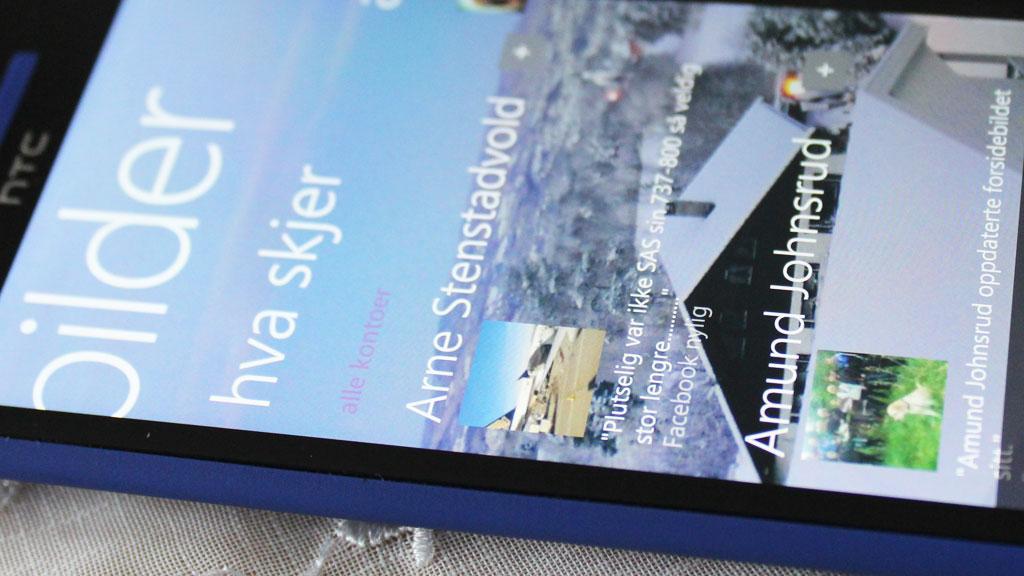 Ingen mobil har høyere pikseltetthet i skjermen.Foto: Espen Irwing Swang, Amobil.no