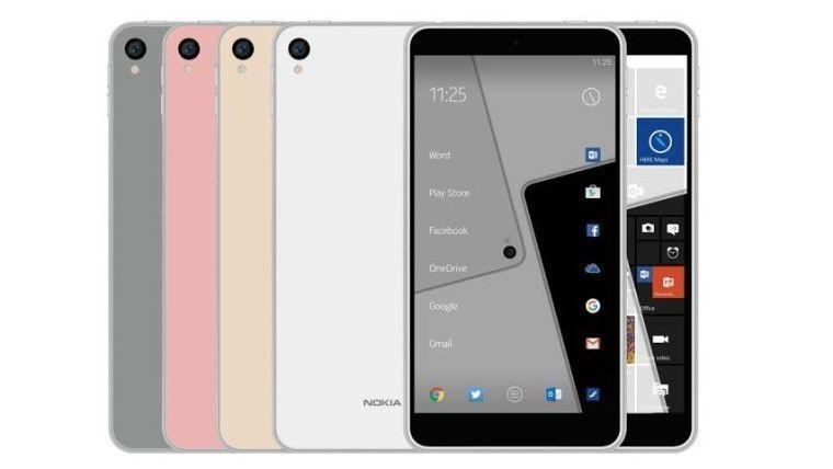Et tidligere lekket bilde av Nokia-mobilen.