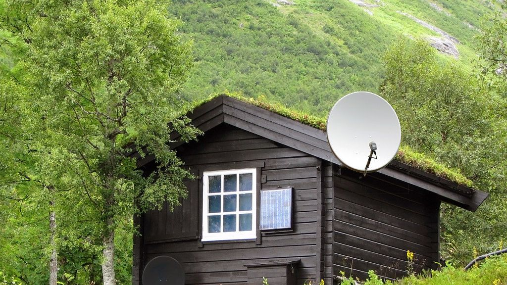 Parabol eller RiksTV på hytta?