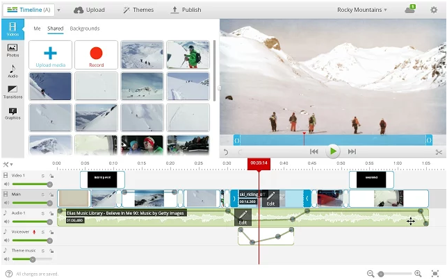 Videoredigering over nettet er jo kult i seg selv, selv om du må ha tålmodighet med store klipp.