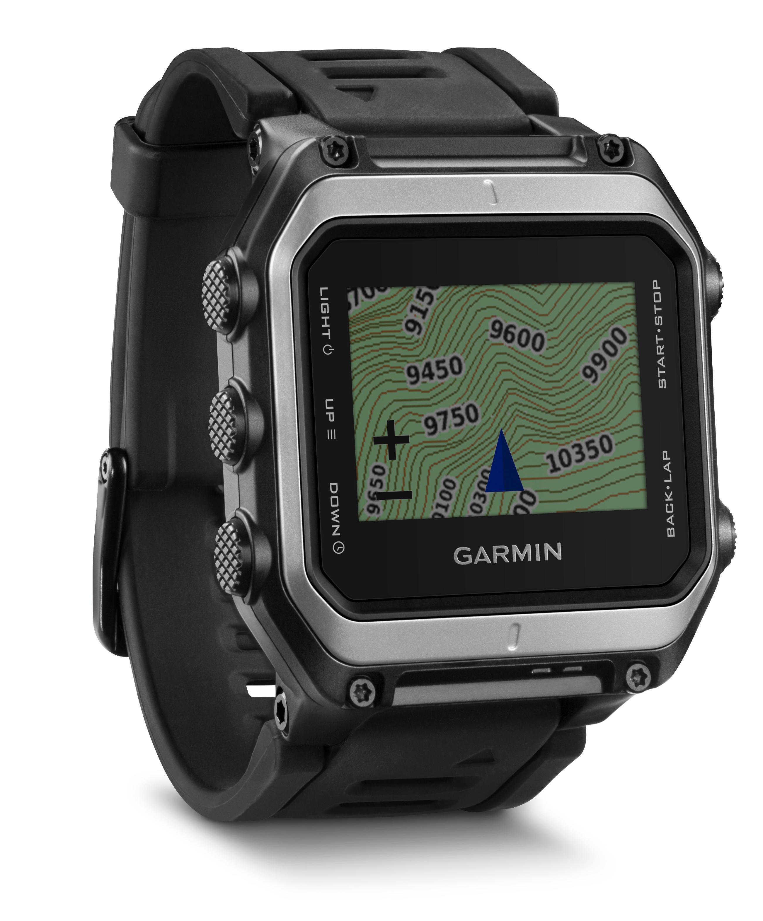 Garmin Epix har de samme mulighetene som Fenix 3, og fargekart i tillegg.