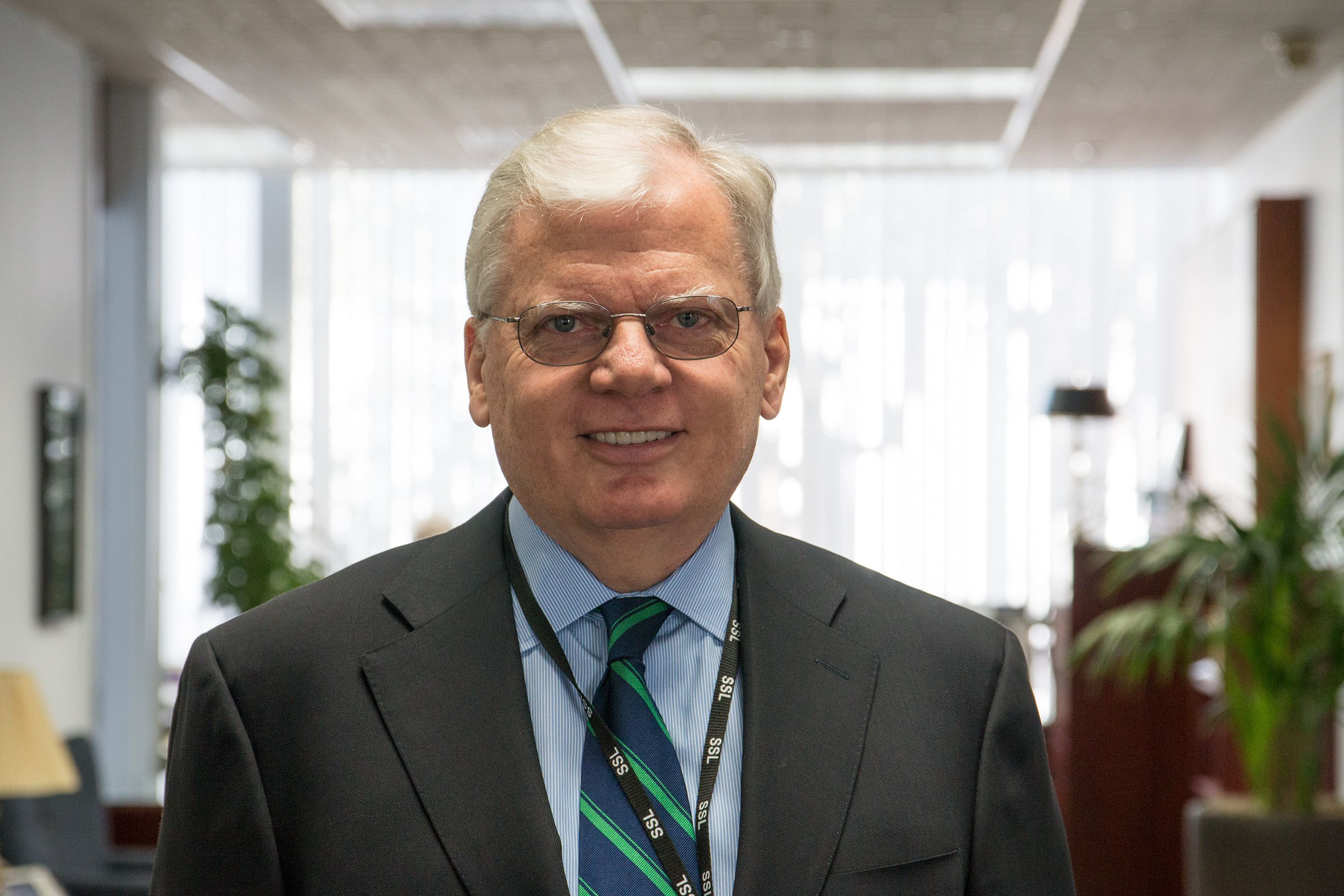 John Celli, presidenten i Space Systems Loral. Foto: Jørgen Elton Nilsen, Tek.no