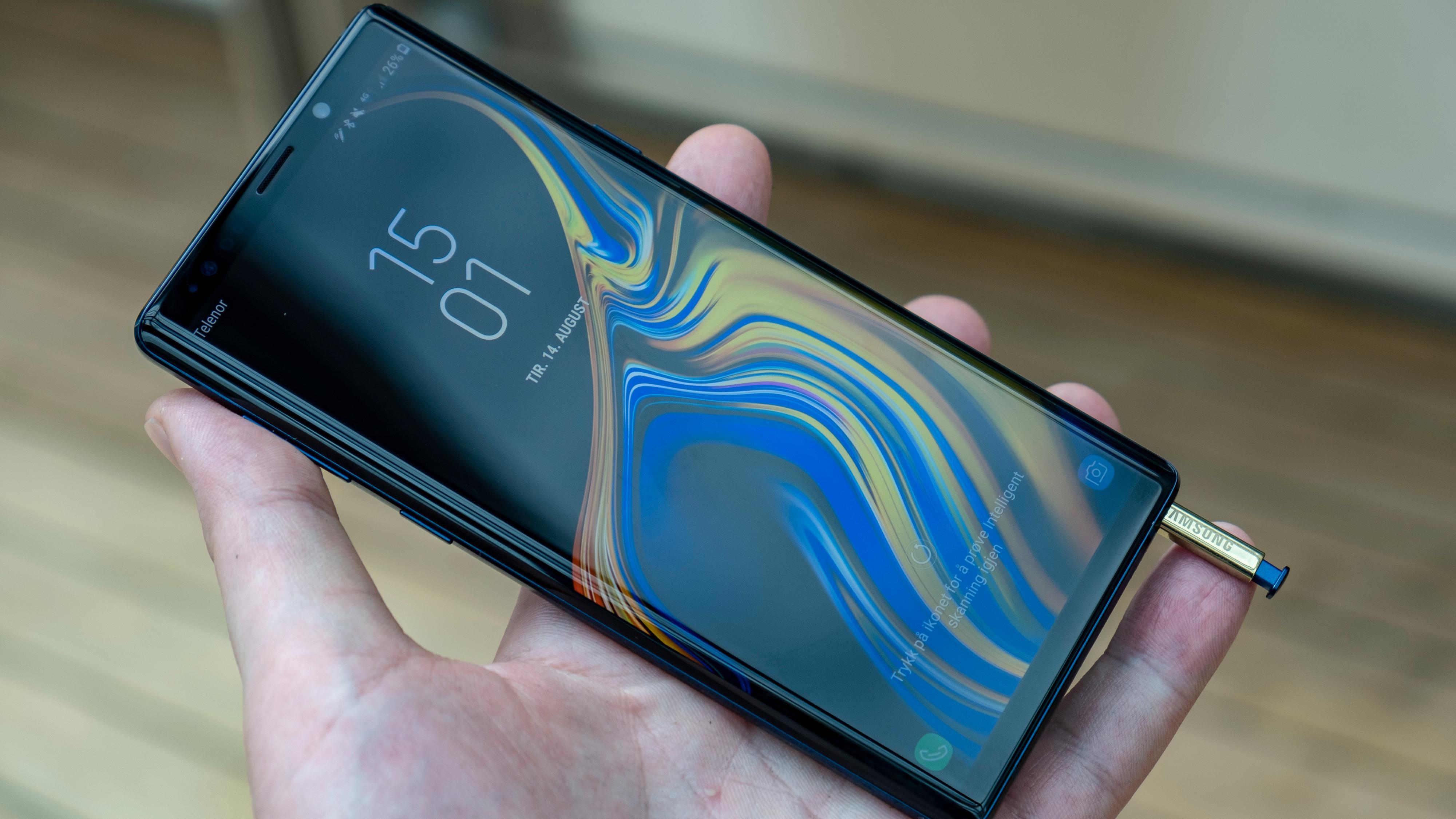 Kvinne saksøker Samsung etter at Note 9-telefonen hennes skal ha tatt fyr