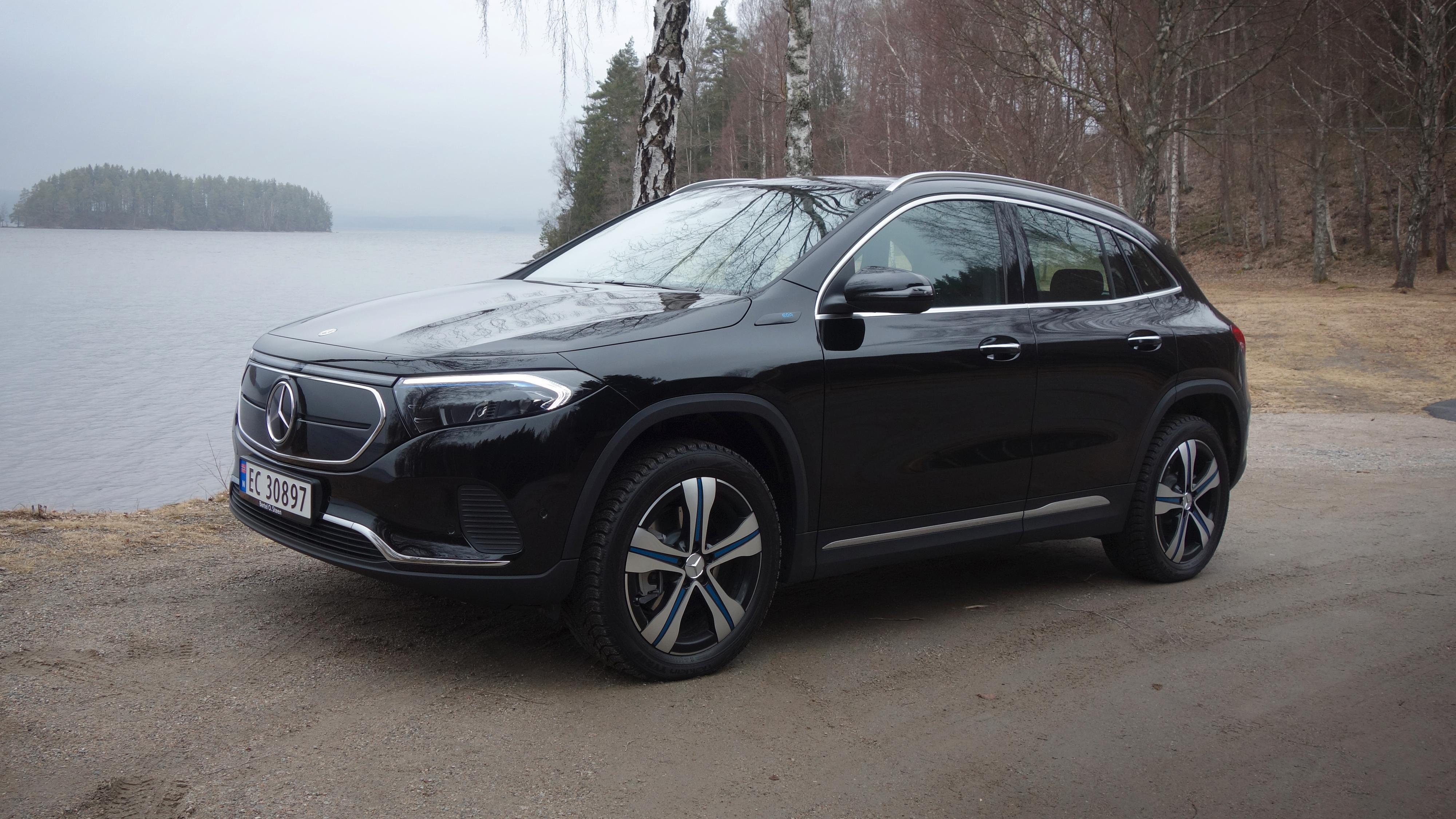Overpresterer på lading: Vi tok med Mercedes-Benz EQA på tur