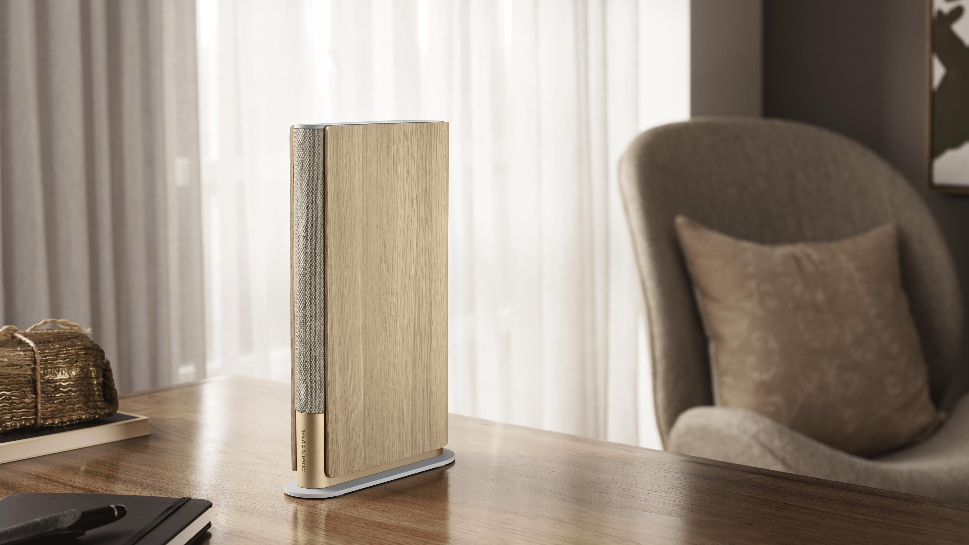 Denne høyttaleren er laget som en bok