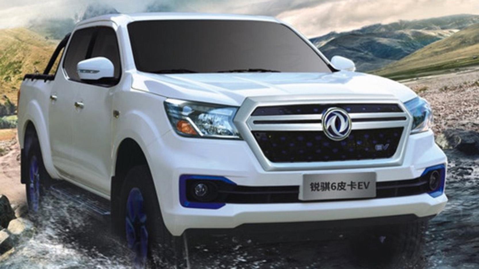 Nissan slipper elektrisk pickup i Kina