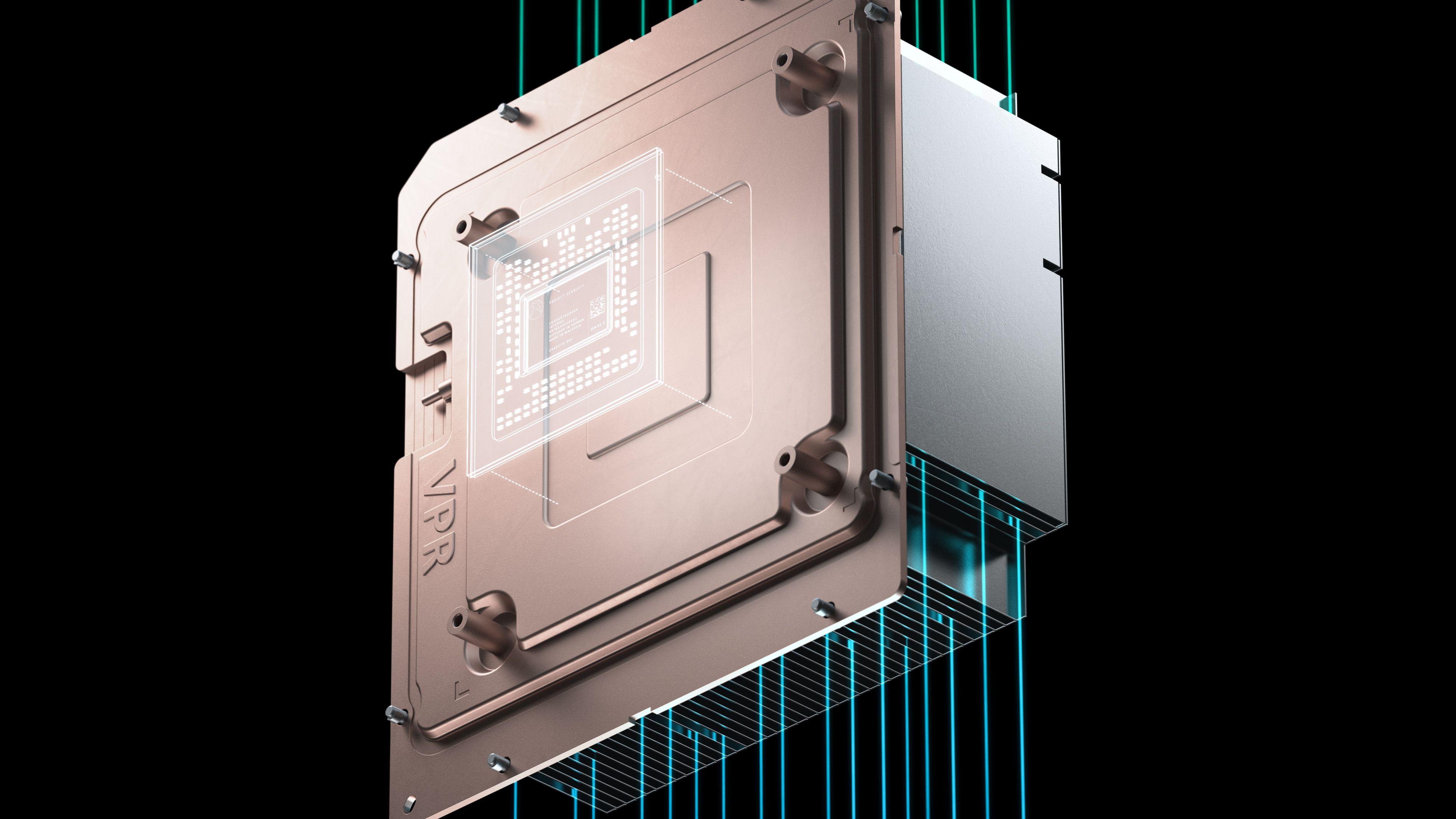 Fordampingskammeret sørger for bedre og jevnere kjøling i Xbox Series X.