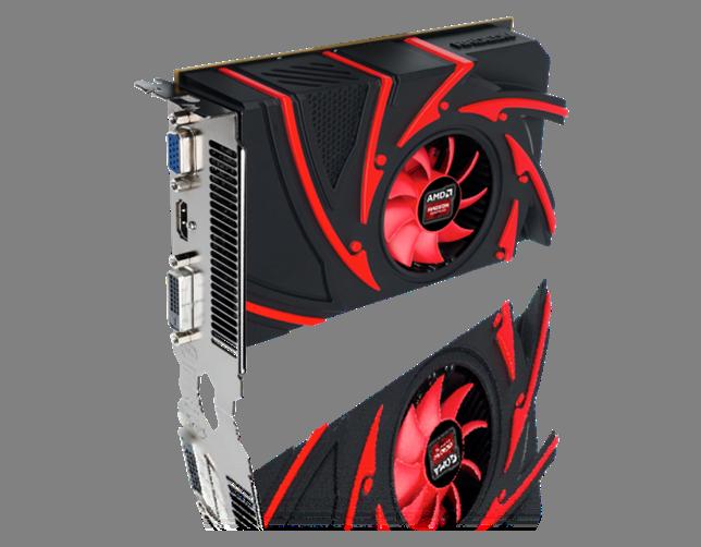 AMD Radeon R7 250 blir det aller billigste kortet i den nye familien, og ikke et som AMD kostet på seg høyoppløste bilder av.Foto: AMD