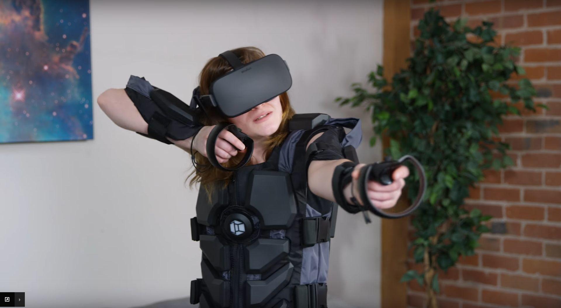 Denne drakten skal gjøre VR-opplevelsen komplett