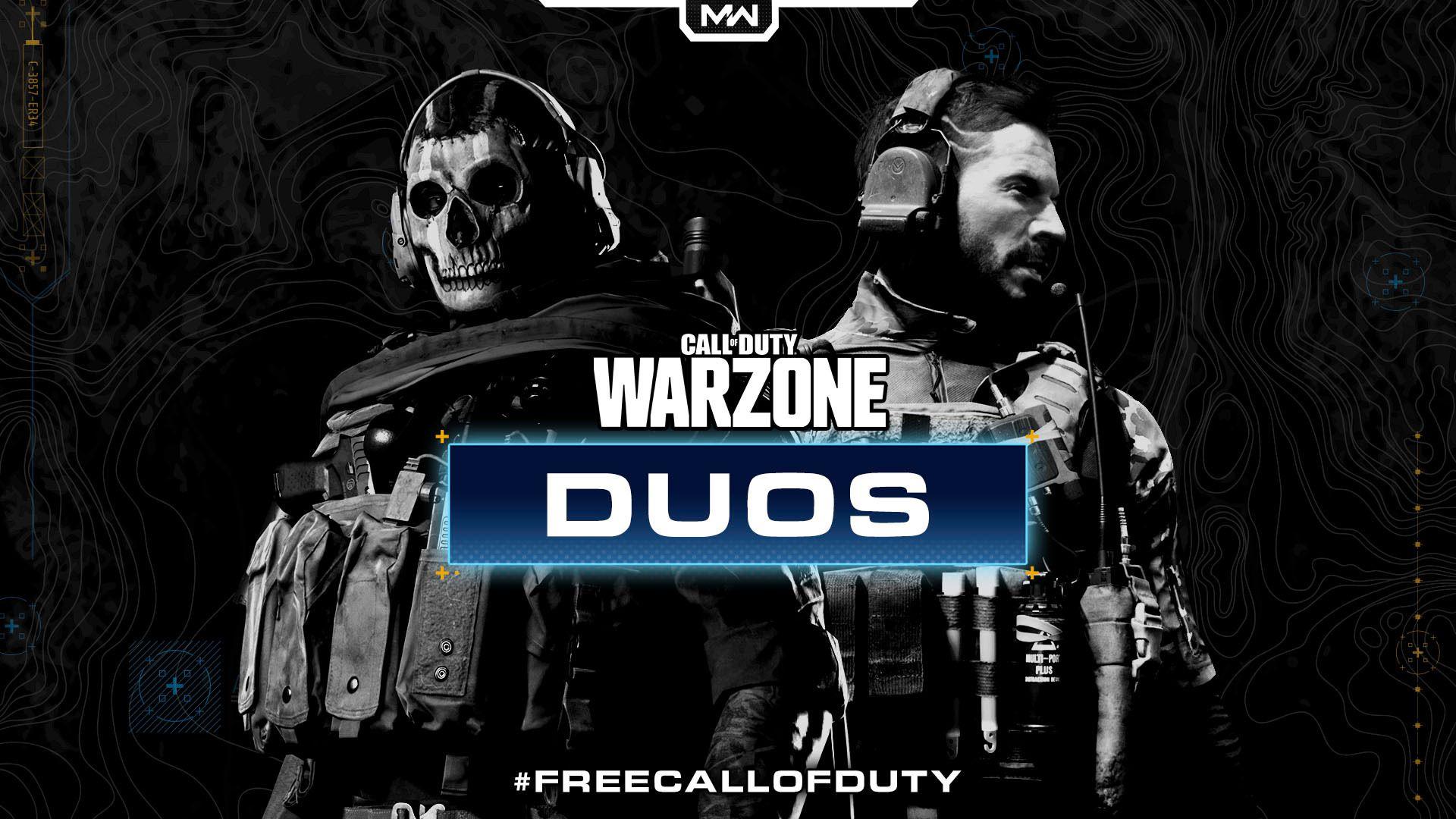 TO OG TO: Call of Duty-spillerne har blitt hørt, og kan omsider spille to mot to i Warzone.