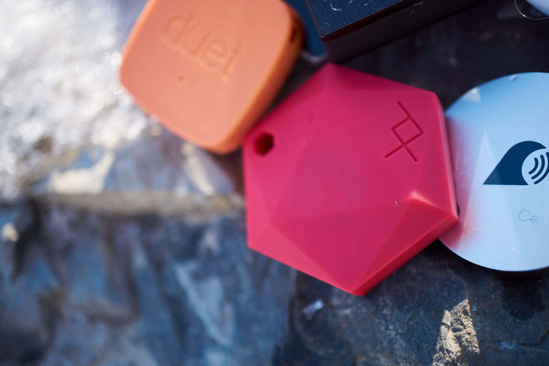 XY Find It skiller seg ut fra mengden, spesielt i denne rødfargen.
