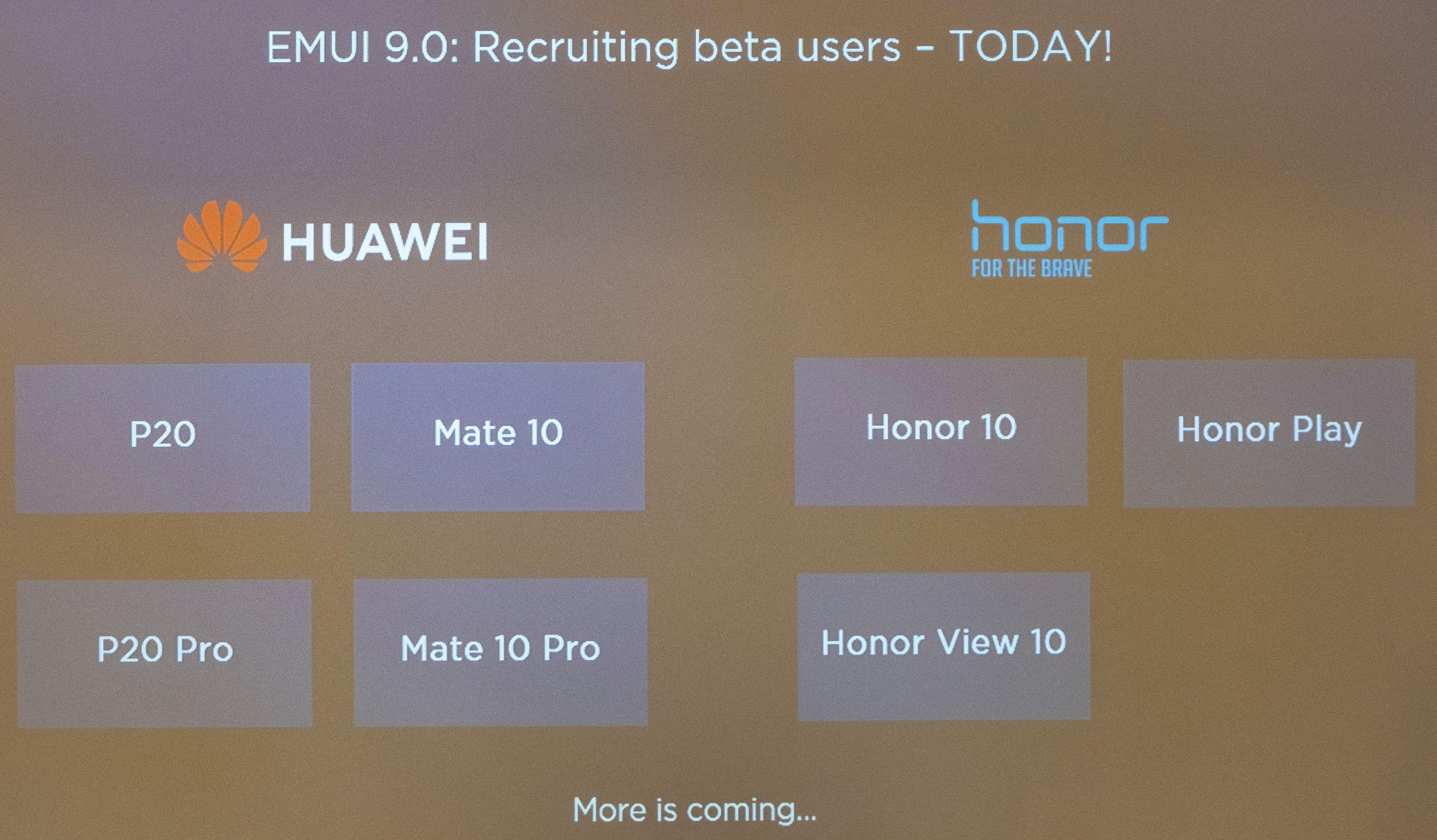Har du én av disse modellene kan du prøvekjøre EMUI 9 i Huaweis betaprogram.