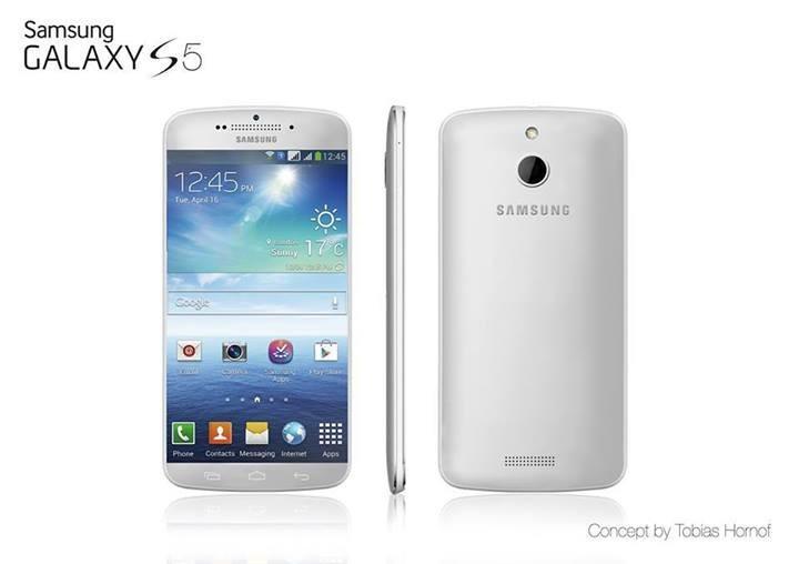 Et annet konseptbilde av Galaxy S5, fra Tobias Hornof.Foto: Tobias Hornof