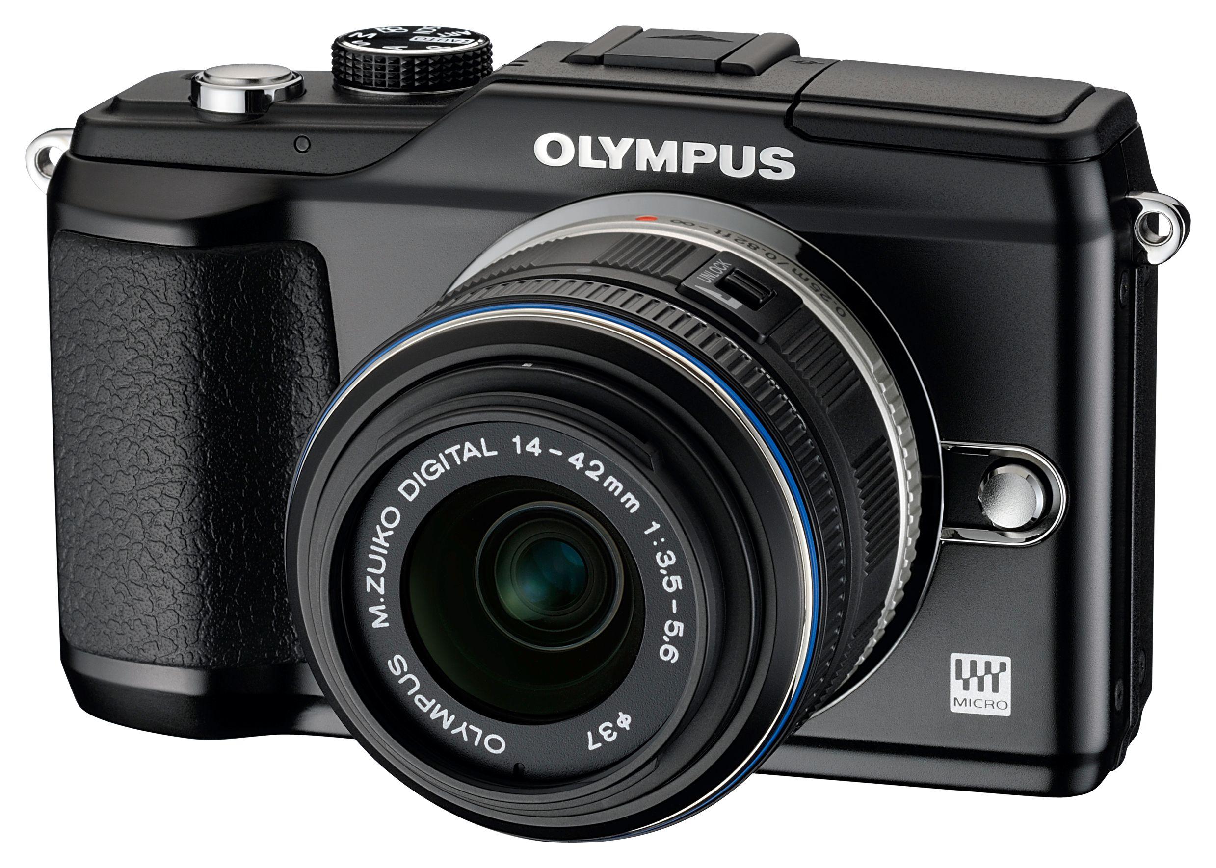Olympus E-PL2 uten undervannshus.