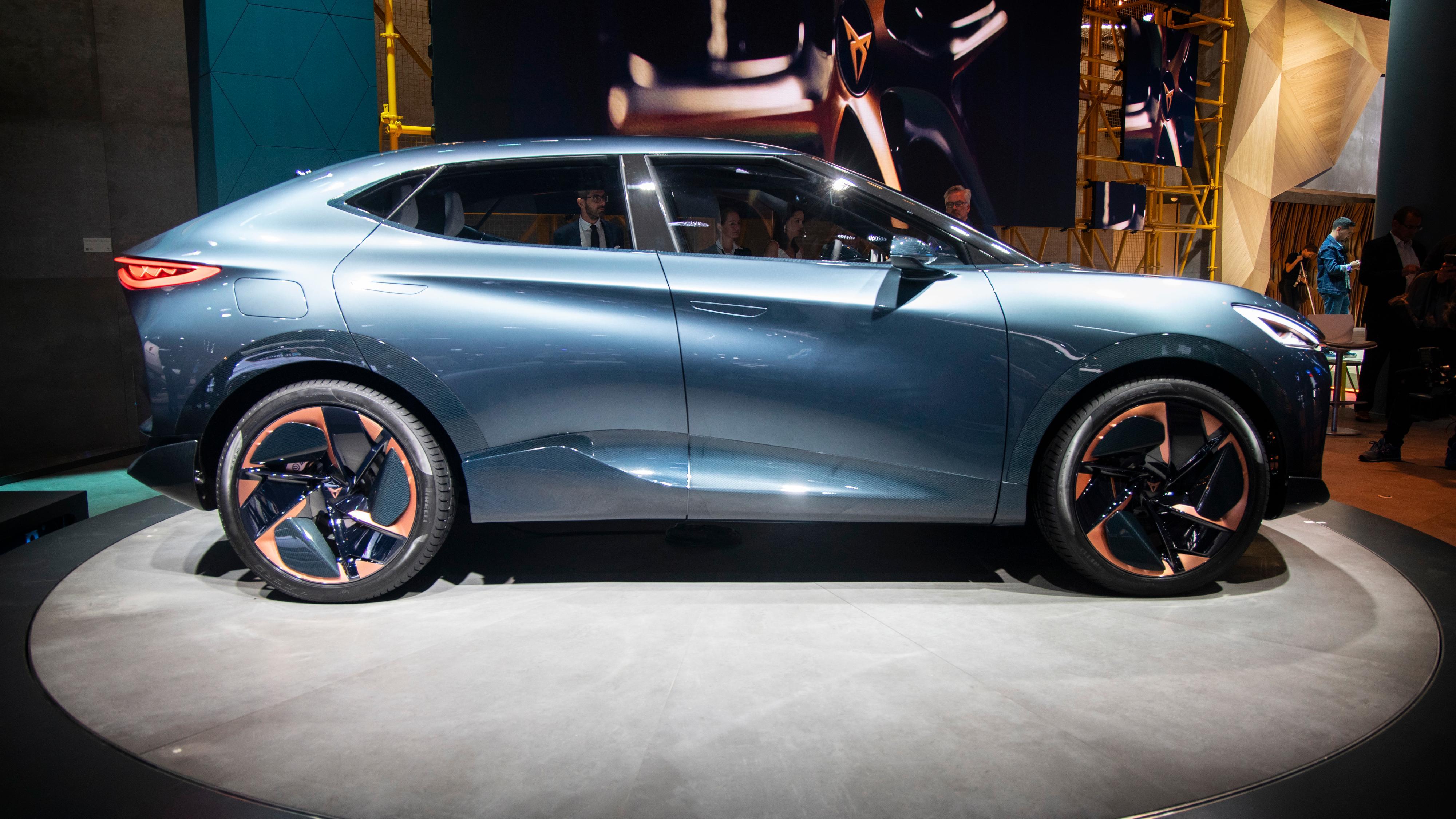 Tavascan-konseptet til Cupra skal bli til en faktisk produksjonsmodell - i 2024.
